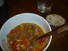 Beef stew, olive bread (Camille)