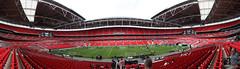 Wembley Stadium Panorama. (Ng Matthew) Tags: world panorama london cup football stadium fifa ground panoramic final pitch worldcup fa wembley premiership wembleystadium canon1740mm boroughofbrent