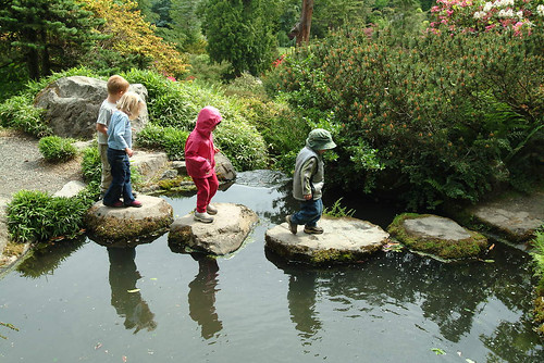 Kids at Kubota Garden, 2003 by Seattle Municipal Archives, on Flickr