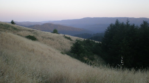 Castle Rock State Park at Sunset