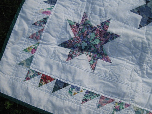 my very first quilt- closer examination