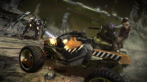 Starhawk E3 Multiplayer 'Capture The Flag' Presentation
