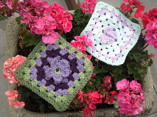 I love these colour combinations. Thank you so much for the gorgeous Squares Kay!