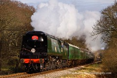 Swanage Railway 13 - 34070 Manston, Quarr Farm Crossing (David Crosbie) Tags: dorset manston harmanscross steamrailways swanagerailway uksteam heritagerailways fbdg 34070 quarrfarm