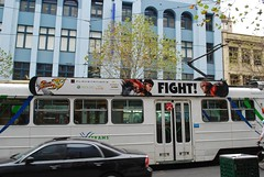 Street Fighter IV - Tram Advertising, Melbourne