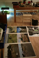 prints drying