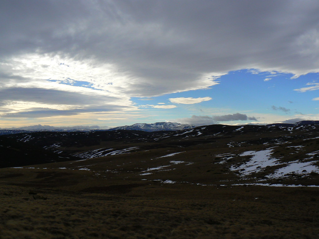 Dramatic skies over Lochnagar