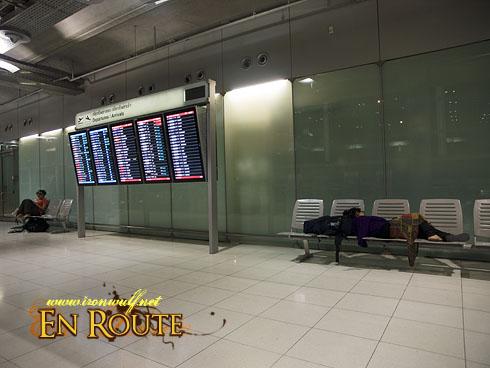 Suvarnabhumi Airport Sleep