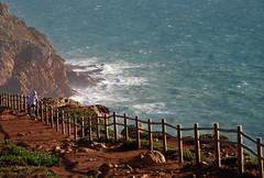 Fences | EXPLORED!!! (Murat Uysal) Tags: ocean sea lighthouse portugal fence yahoo google flickr lisbon scene cabodaroca sce madeinportugal ilustrarportugal muratuysal