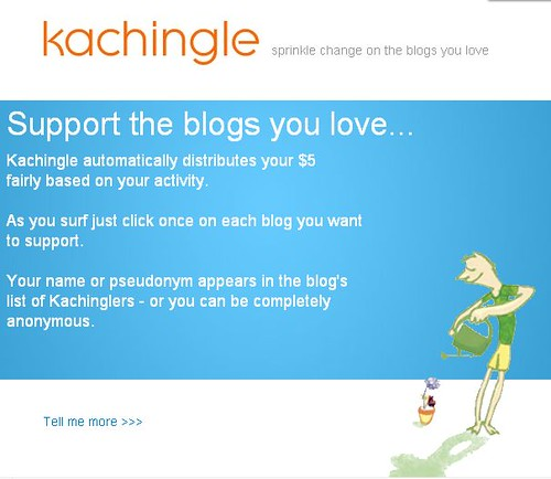Kachingle Home Page