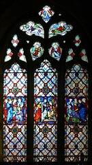 Pugin window, All Saints - West Haddon