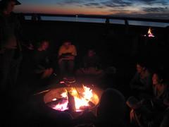 Beach Bonfire at Corona Del Mar (cosecant) Tags: beach bonfire coronadelmar
