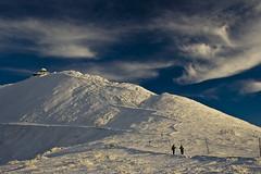 Sněžka (1602 m) (Vaclav Klicnik) Tags: czechrepublic krkonoše českárepublika polarizačnífiltr winter09 elevation15002000 sněžka1602 mountainskrkonoše alttitude1602