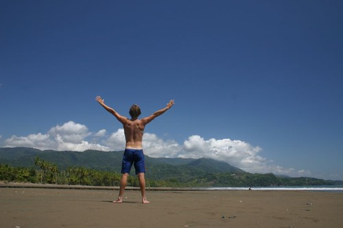 La Vida Dulce! Playa Uvita on Costa Rica's Pacific coast...