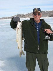 Me With a Nice Lake Trout (fethers1) Tags: icefishing laketrout williamsforkresevoir