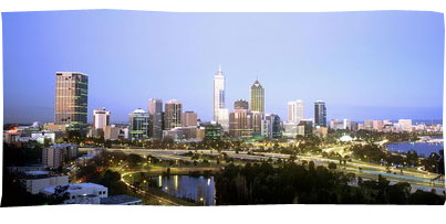WA Perth City Skyline, by Tourism Australia