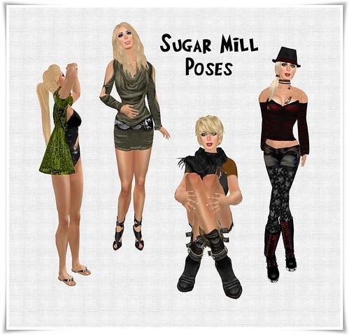 sugar mill poses