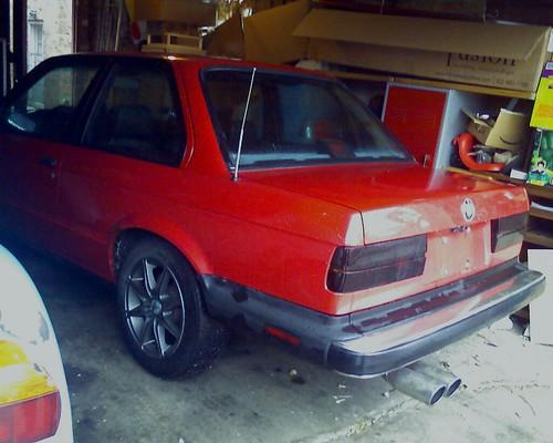 bmw rear