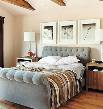 Eco-chic: Adrian Grenier's laid-back L.A. bedroom by xJavierx.