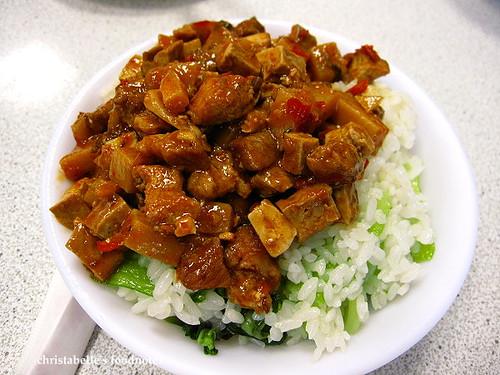蔡萬興炸醬菜飯