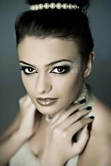 Jenny R. #3 (Georg F. Klein) Tags: portrait beauty canon model glamour dof makeup 85mm portraiture 5d homestudio jennyr
