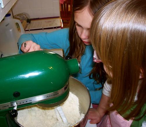 Irish Soda Bread - Mixing