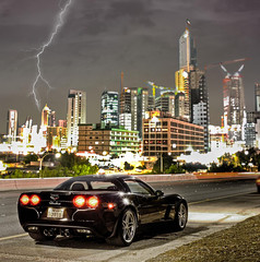 Corvette Z06 - Midnight Club (Talal Al-Mtn) Tags: street black club chevy midnight motor kuwait corvette talal c6 q8 z06 kwt  almtn