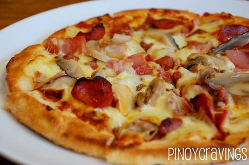 Protein Supreme Pizza