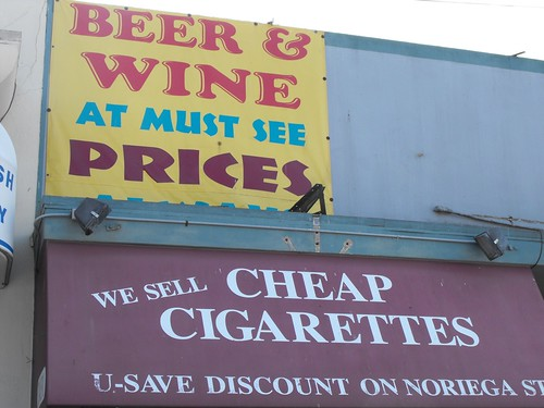 Loud Advertising in The Outer Sunset 2