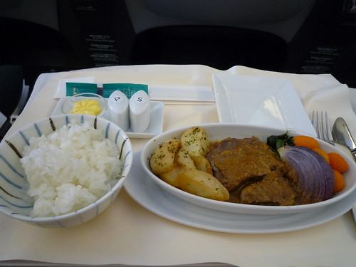 in-flight meal (JAL) 3