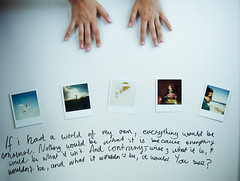 curiouser (ben.doo.dat) Tags: hands doors alice polaroids sharpie wonderland nonsense cupboard redecorating