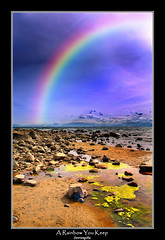 A Rainbow ...You Keep.... (Suvrangshu) Tags: california travel sky lake canon landscape photography rainbow over tahoe explore alpine 5d colourful suv ghosh rainbowlake neveda rainbowinthesky suvrangshu colourfulrainbow arainbowyoukeep