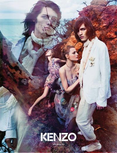 33afe205d1d Artistic Critique: [Ad Campaign] Kenzo Spring-Summer 2009