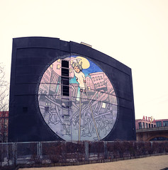Mural Art by Nomad (urbanartcore.eu) Tags: streetart berlin alex painting mural paint urbanart alexanderplatz nomad mitte muralart