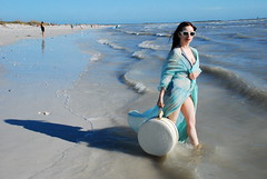 but you dont know anyone in the ocean!! (tiffanycsteinke) Tags: ocean beach up vintage pin babe retro luggage seashore pinup butyoudontknowanyoneintheocean kithrefrence