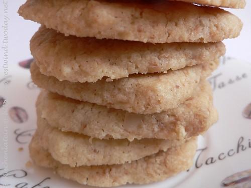 Coconut Butter Thins - Kokosnuss Shortbread