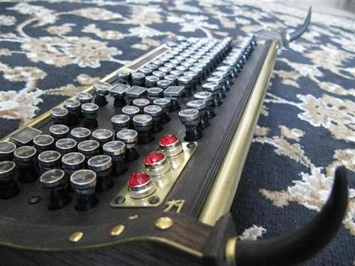 Computer Keyboard with Antic Touch 3