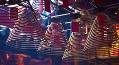 Man Mo Temple 04 (ignacio izquierdo) Tags: china hk man spiral temple hongkong mo hong kong espiral templo incense incienso