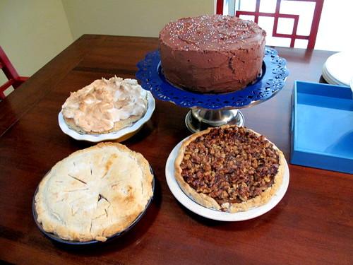 Robertson Family BBQ Desserts