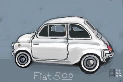 Fiat 500, by Matthew Watkins