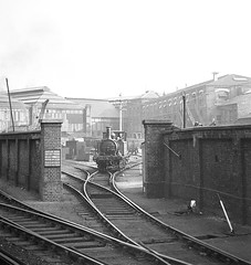 A1X 377S shunting Brghton Works yard 1 Sept 1955