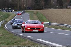 Ferrari F355 & compagnie (djnasty) Tags: detail canon moulin photo automobile 911 ferrari voiture turbo porsche alfa romeo scuderia nord cassel f430 456 lineup f355 996 997 8c bergues beffroi competizione dreamexoticscars