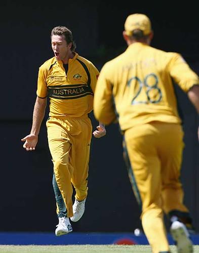 Stunning Mcgrath-Australia vs SA 2nd semifinal St Lucia WC 2007