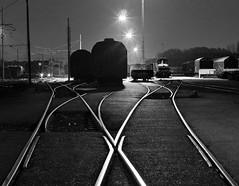 Giganti nella Notte (Giants in the night) (ozio-bao) Tags: white black 20d night yard canon sigma 17 70 giap aloneinthedark oziobao