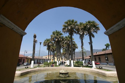 Plaza in Antigua.