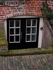 Basement Entry (Wandering Aloud Blog) Tags: street enkhuizen bydeb