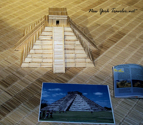 Mexico temple toothpicks