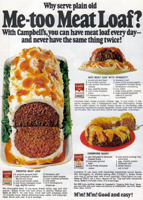 Vintage Ad #795: Me-too Meat and Other Experiments from Campbell's