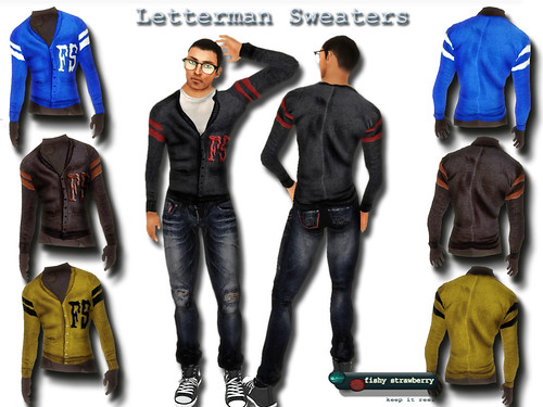 Letterman Sweaters Ad