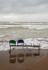 (~Behzad~) Tags: sea iran seat lonely sari       behzadgolestani
